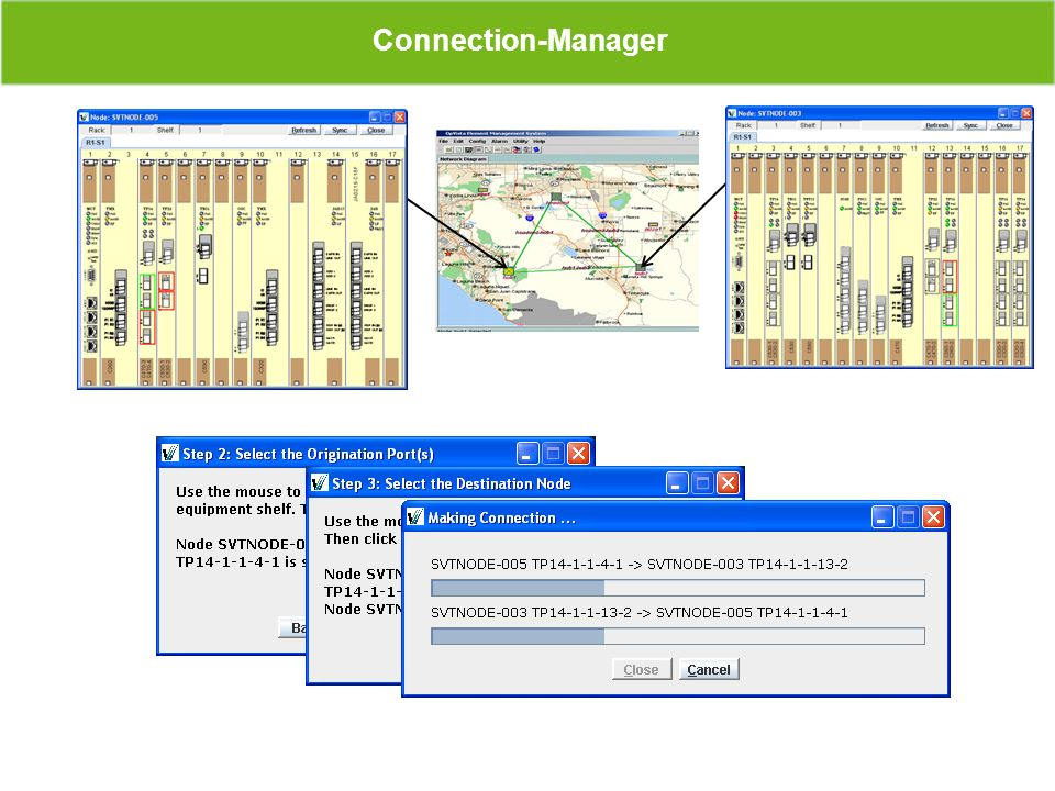 Connection-Manager Service Interface Service Interface