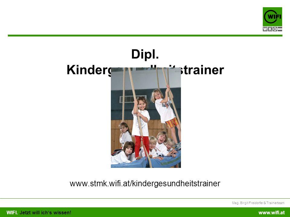 Dipl. Kindergesundheitstrainer