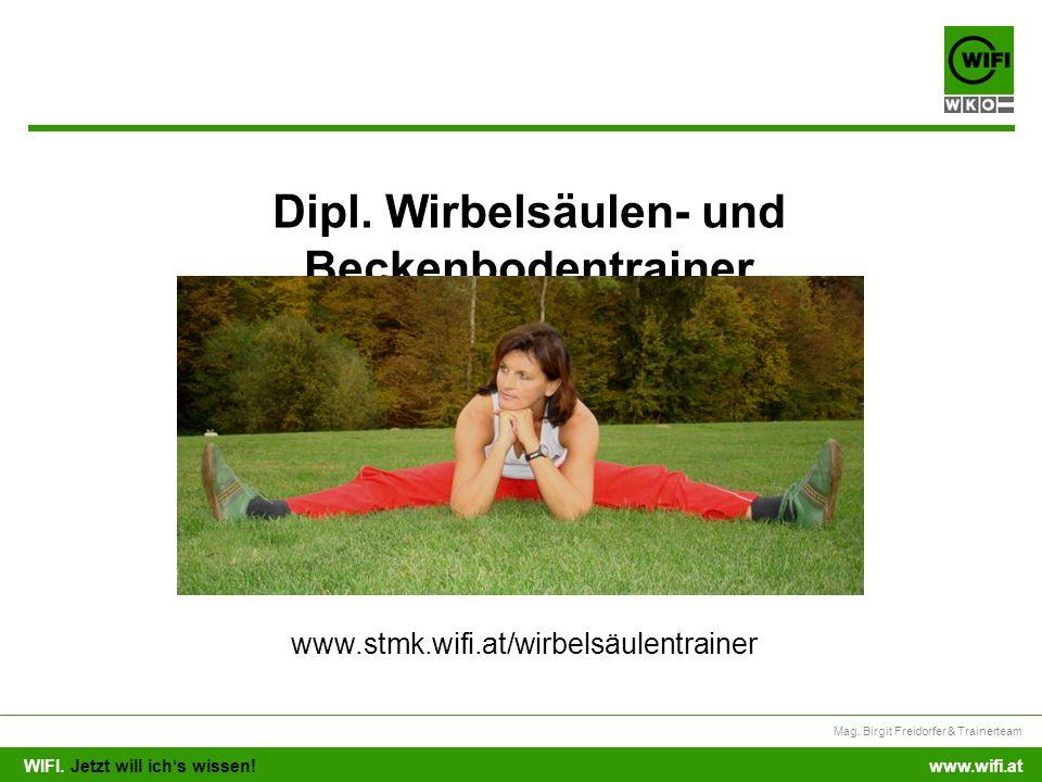 Dipl. Wirbelsäulen- und Beckenbodentrainer