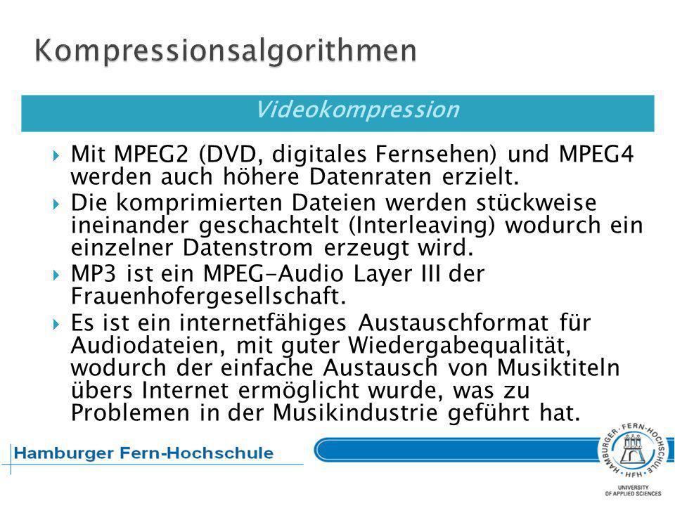 Kompressionsalgorithmen
