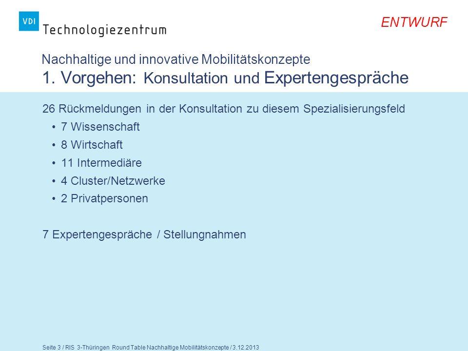 Nachhaltige und innovative Mobilitätskonzepte 1