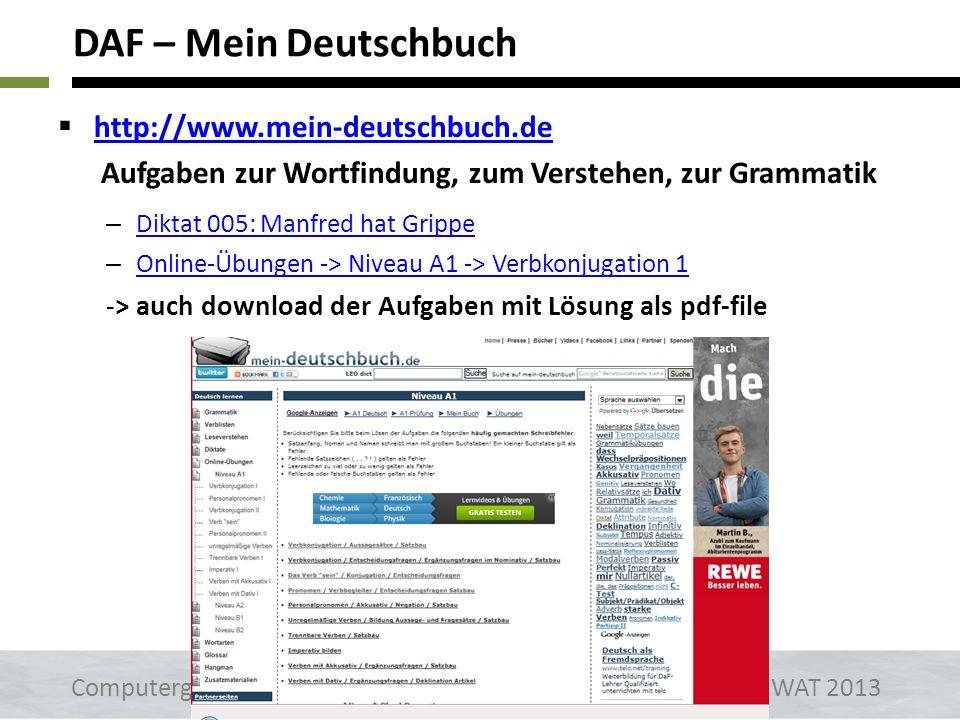 DAF – Mein Deutschbuch http://www.mein-deutschbuch.de