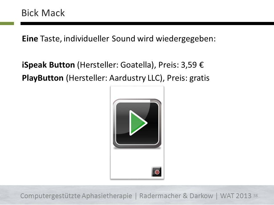 Bick Mack