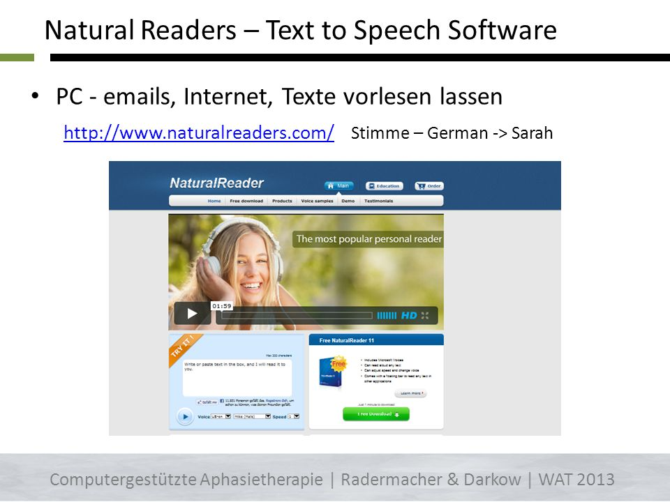 Natural Readers – Text to Speech Software
