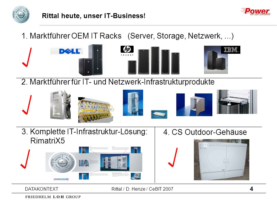 Rittal heute, unser IT-Business!