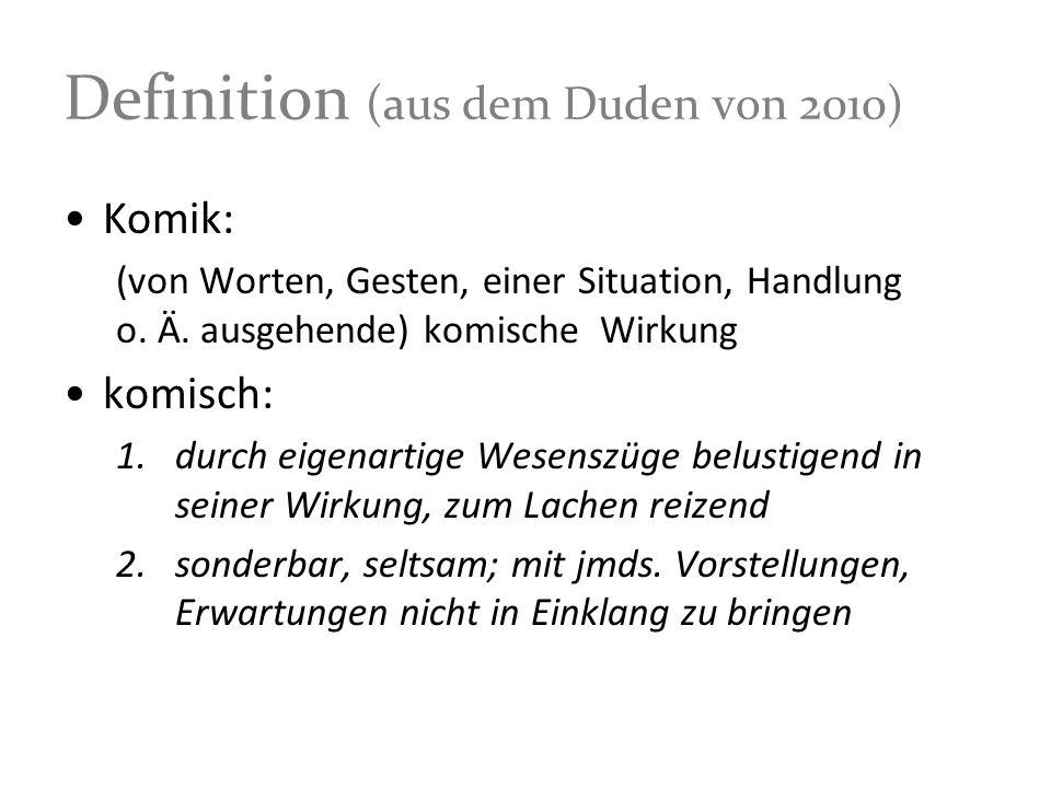 Definition (aus dem Duden von 2010)