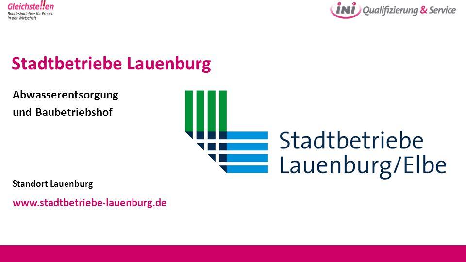 Stadtbetriebe Lauenburg