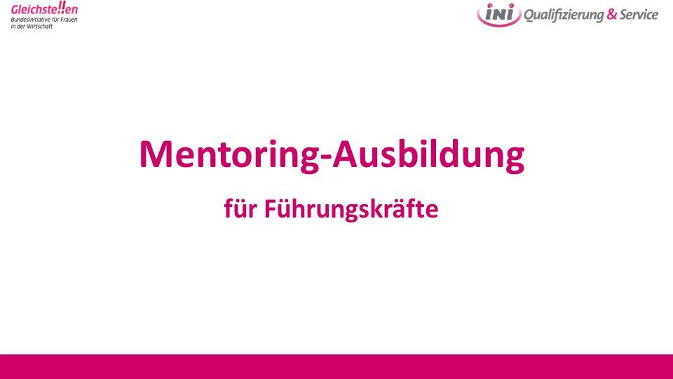 Mentoring-Ausbildung für Führungskräfte