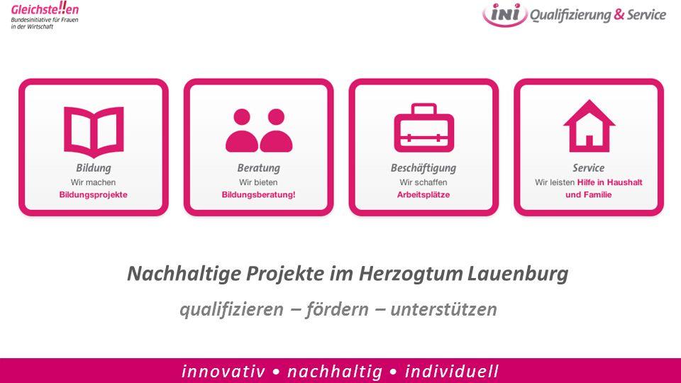 Nachhaltige Projekte im Herzogtum Lauenburg