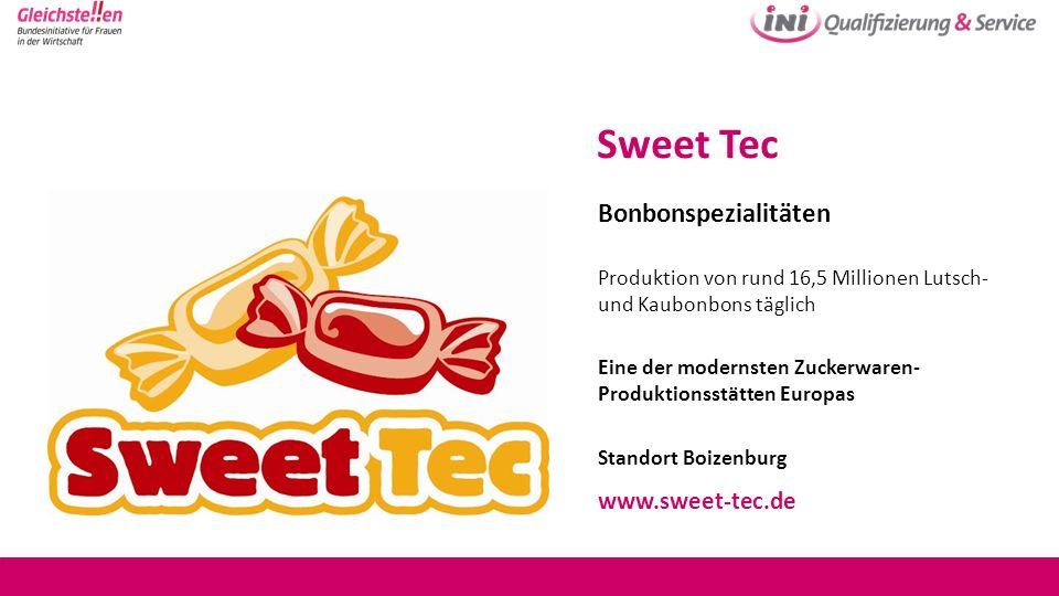 Sweet Tec Bonbonspezialitäten www.sweet-tec.de