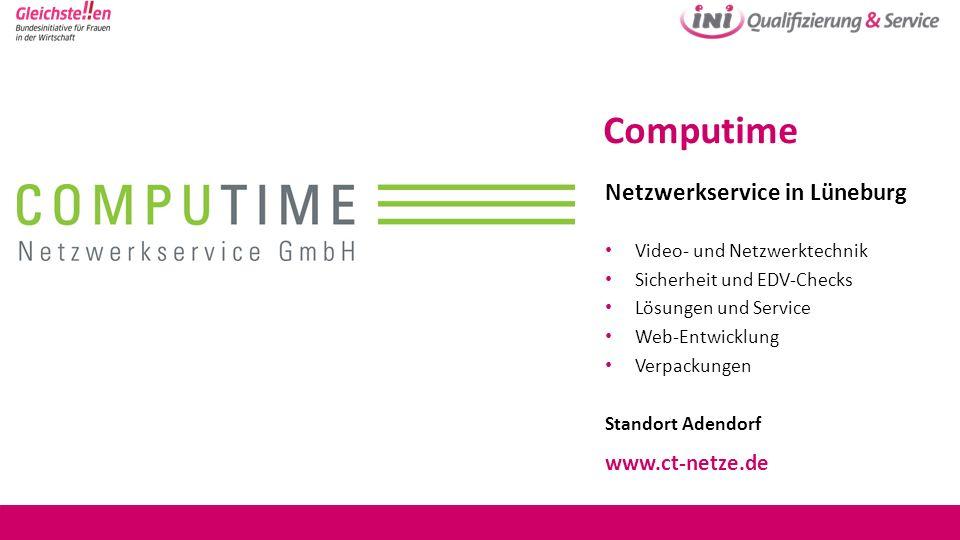 Computime Netzwerkservice in Lüneburg www.ct-netze.de