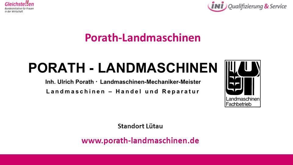 Porath-Landmaschinen