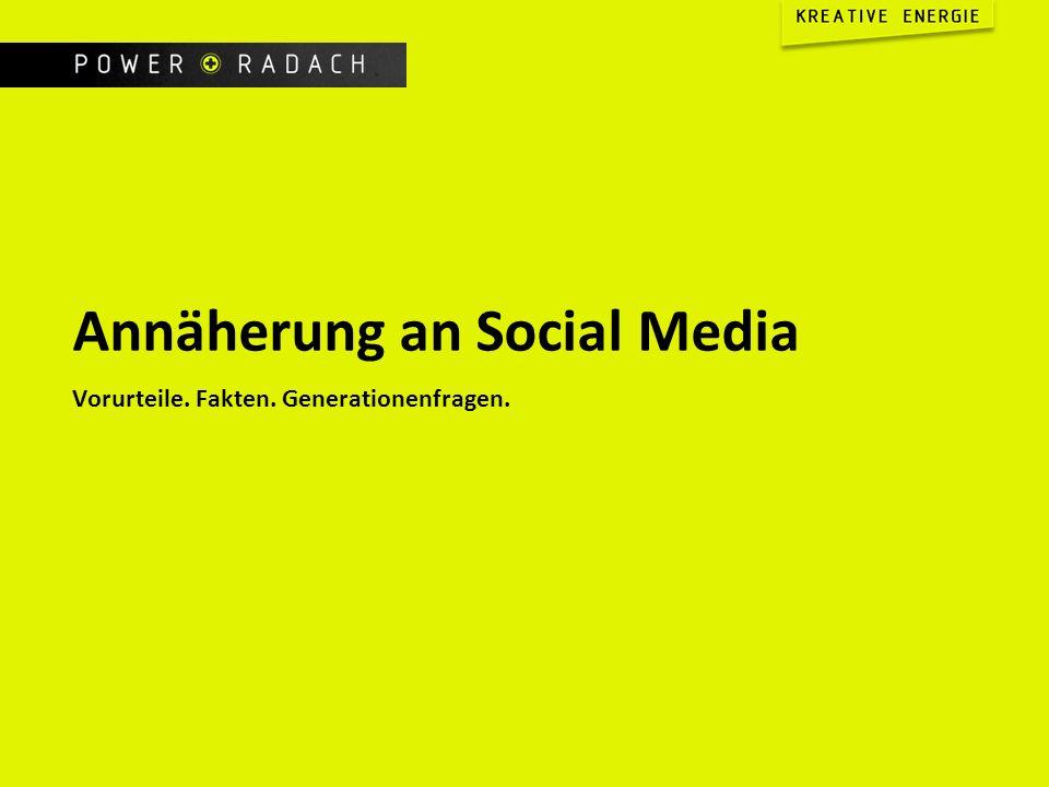 Annäherung an Social Media