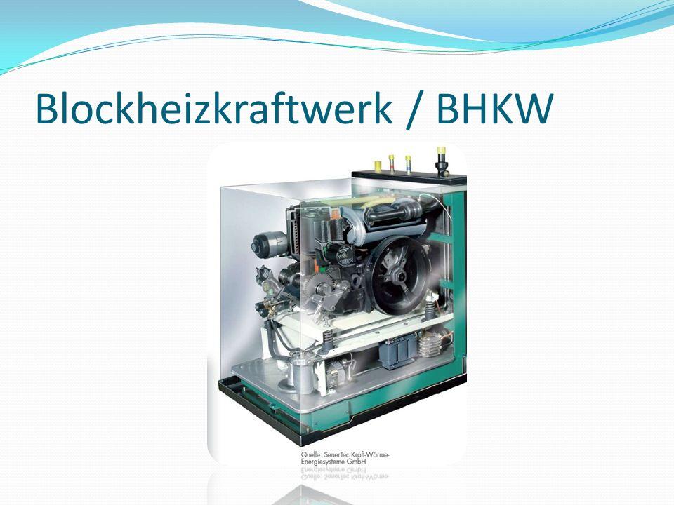 Blockheizkraftwerk / BHKW