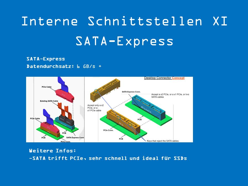 Interne Schnittstellen XI SATA-Express