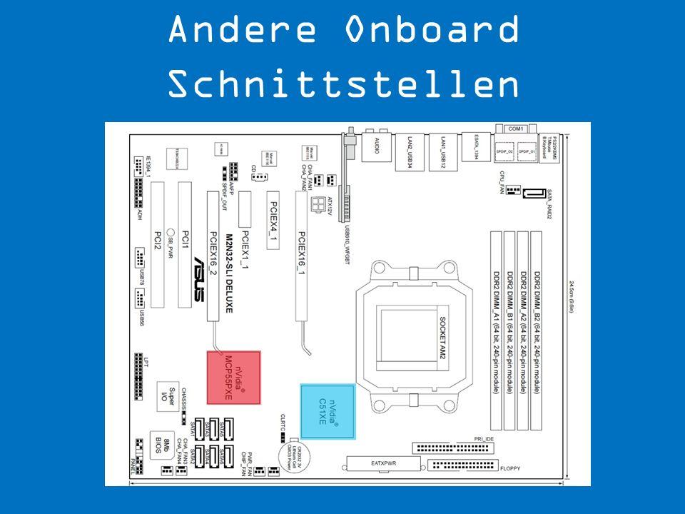 Andere Onboard Schnittstellen
