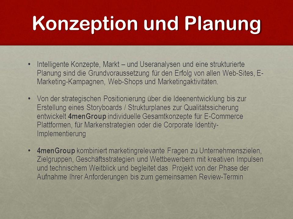 Konzeption und Planung