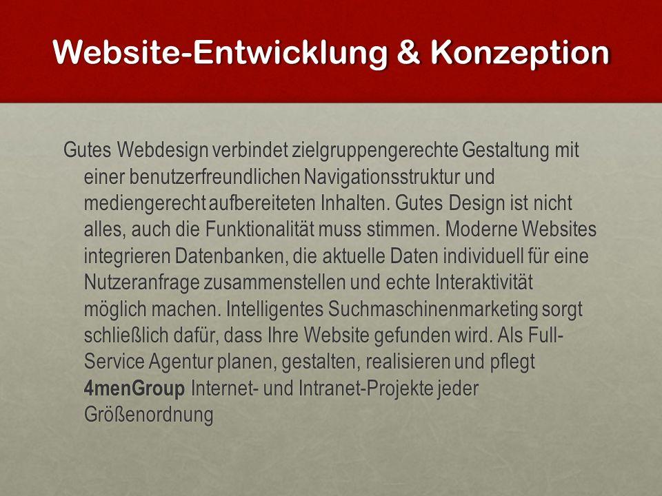 Website-Entwicklung & Konzeption