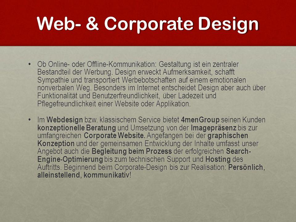 Web- & Corporate Design