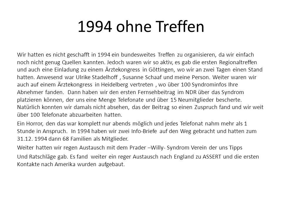 1994 ohne Treffen