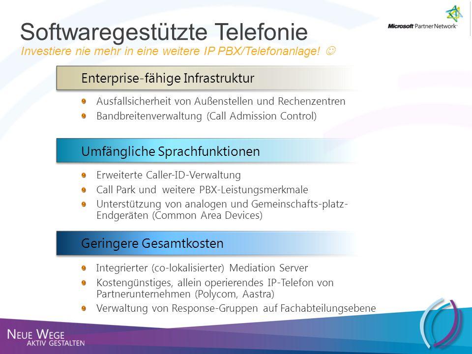 Softwaregestützte Telefonie
