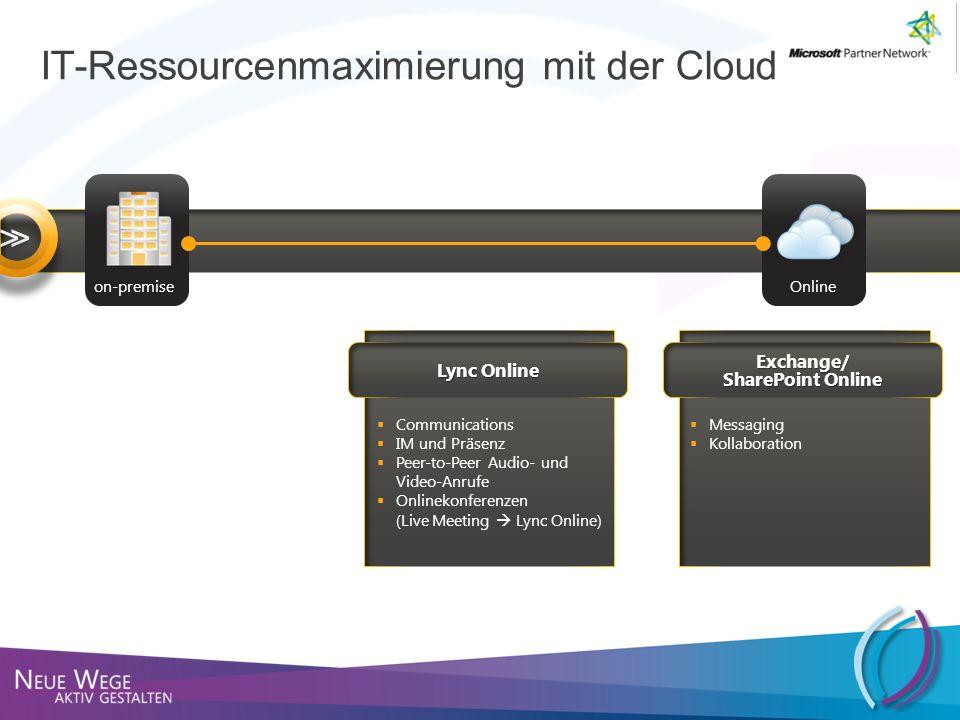 IT-Ressourcenmaximierung mit der Cloud