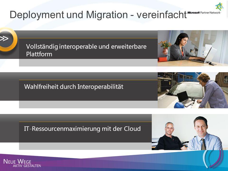 >> Deployment und Migration - vereinfacht