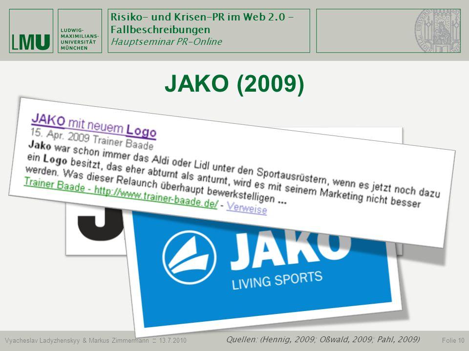 Quellen: (Hennig, 2009; Oßwald, 2009; Pahl, 2009)