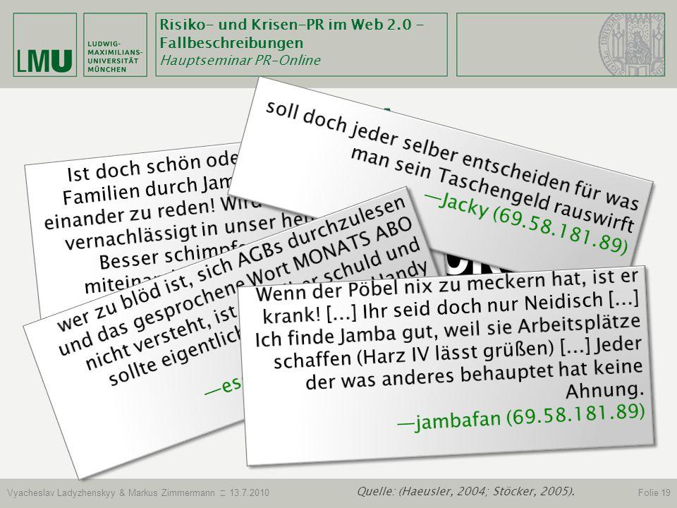 Jamba Blog Spreeblick kritisiert Jamba-Kurs