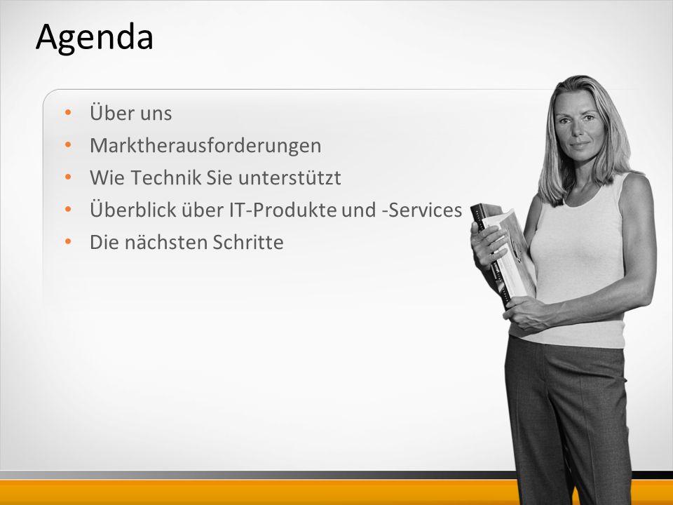 Agenda Über uns Marktherausforderungen Wie Technik Sie unterstützt