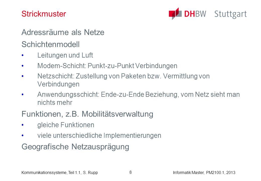 Funktionen, z.B. Mobilitätsverwaltung