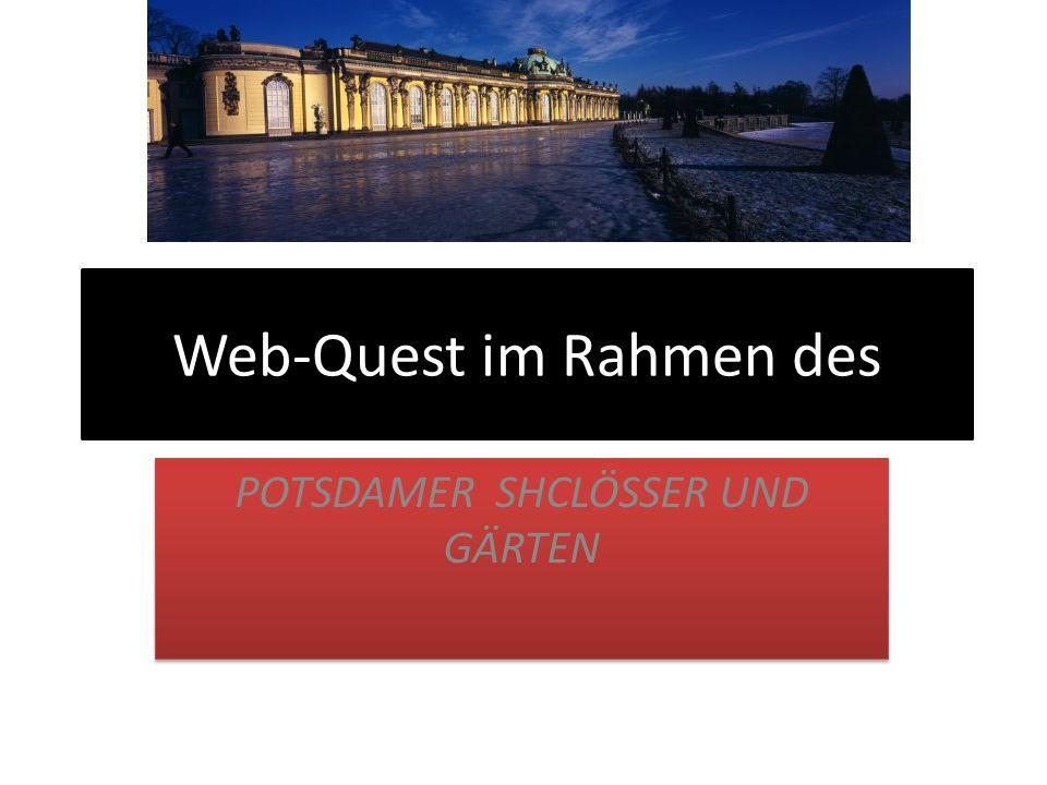 Web-Quest im Rahmen des