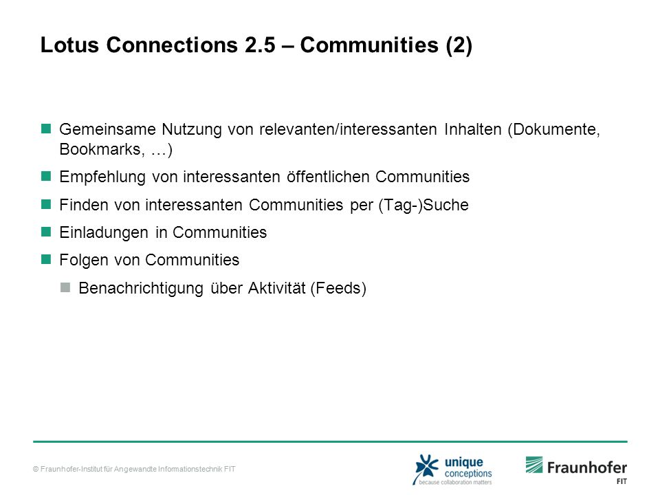 Lotus Connections 2.5 – Communities (2)