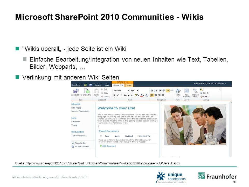 Microsoft SharePoint 2010 Communities - Wikis