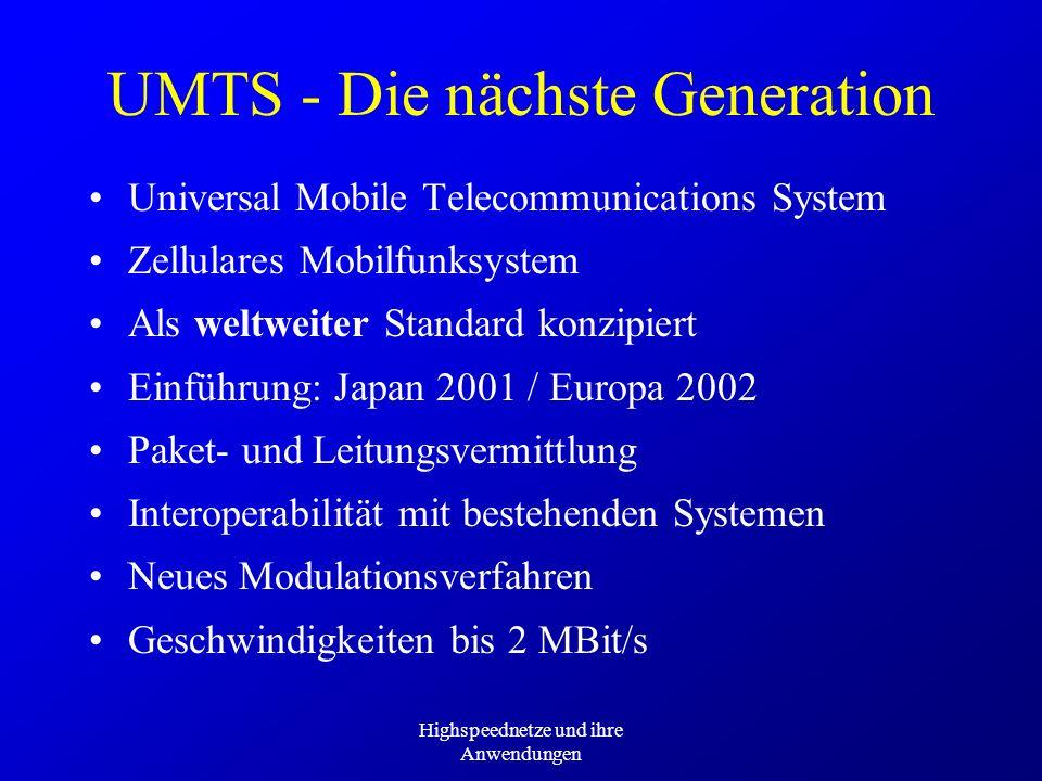 UMTS - Die nächste Generation