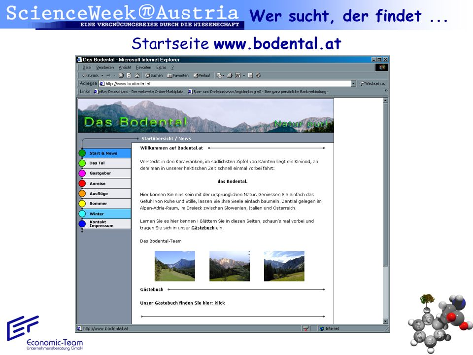 Startseite www.bodental.at