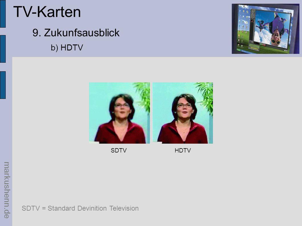 TV-Karten 9. Zukunfsausblick b) HDTV markushenn.de