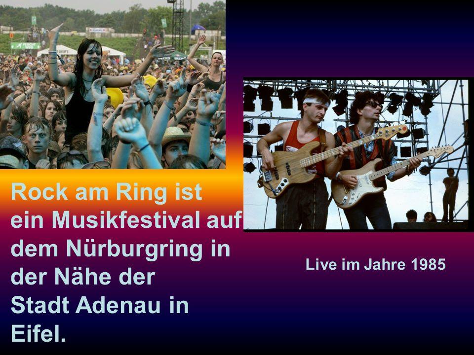 Rock am Ring ist ein Musikfestival auf dem Nürburgring in der Nähe der Stadt Adenau in Eifel.