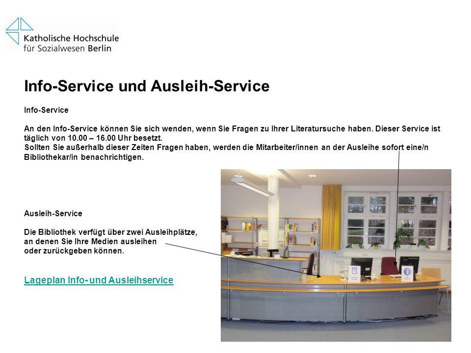 Info-Service und Ausleih-Service