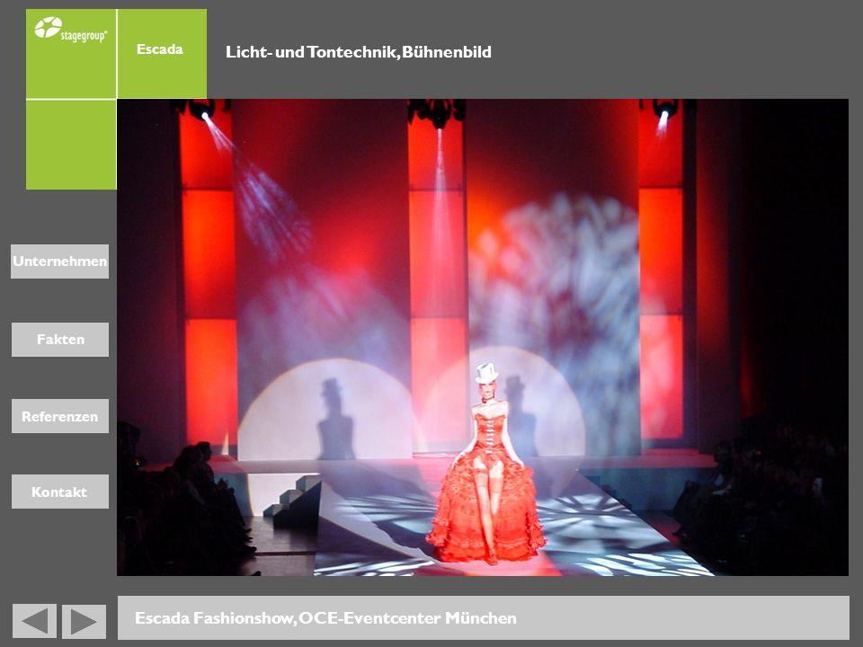 Licht- und Tontechnik, Bühnenbild
