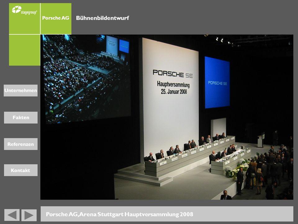Porsche AG, Arena Stuttgart Hauptversammlung 2008