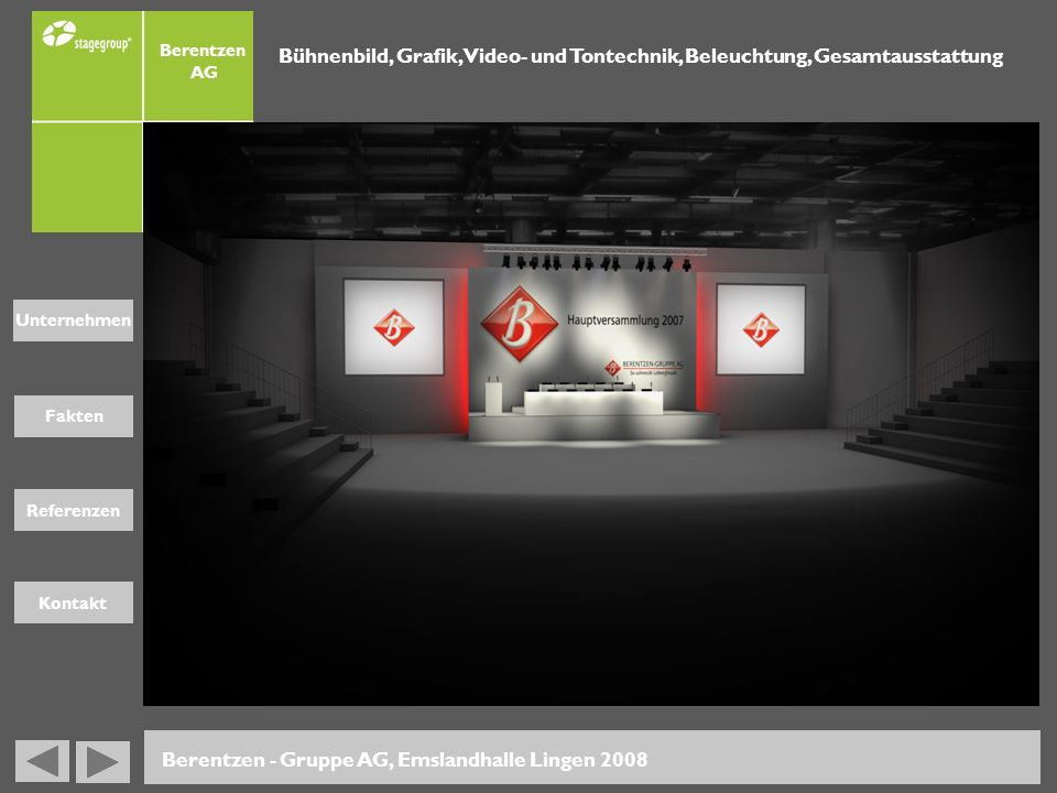 Berentzen - Gruppe AG, Emslandhalle Lingen 2008