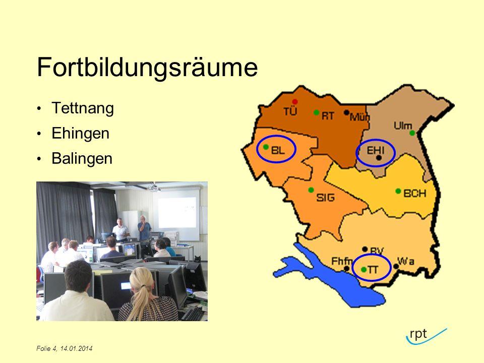 Fortbildungsräume Tettnang Ehingen Balingen TITEL DES VORTRAGS