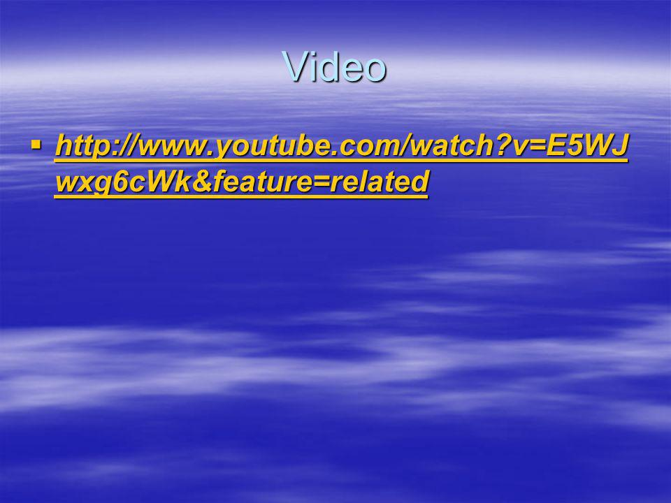Video http://www.youtube.com/watch v=E5WJwxg6cWk&feature=related