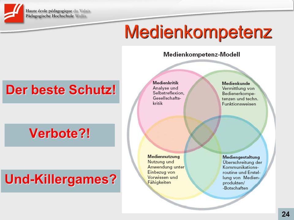 Medienkompetenz Der beste Schutz! Verbote ! Und-Killergames 24