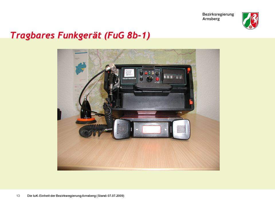 Tragbares Funkgerät (FuG 8b-1)