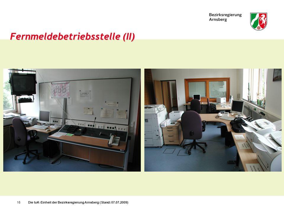 Fernmeldebetriebsstelle (II)