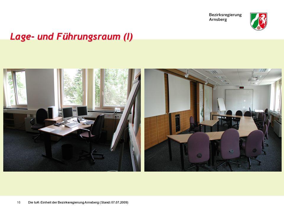 Lage- und Führungsraum (I)