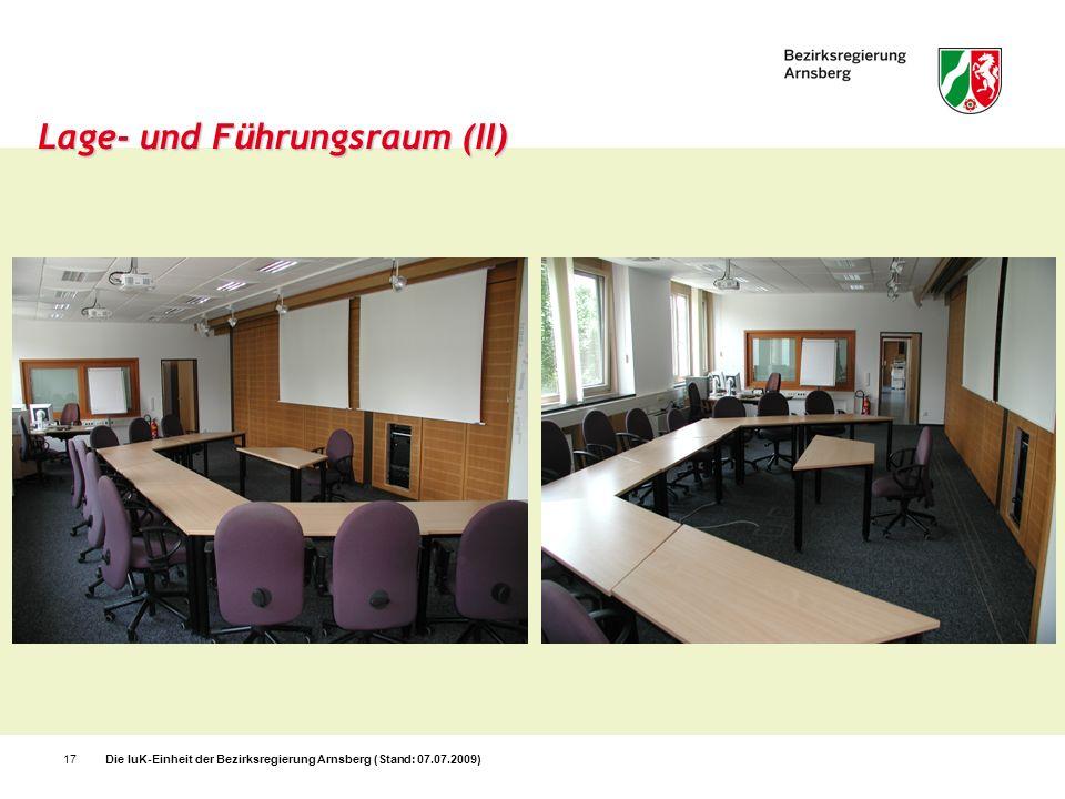 Lage- und Führungsraum (II)