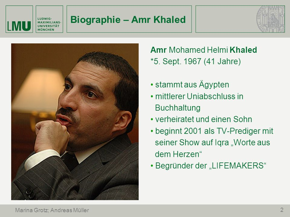 Biographie – Amr Khaled